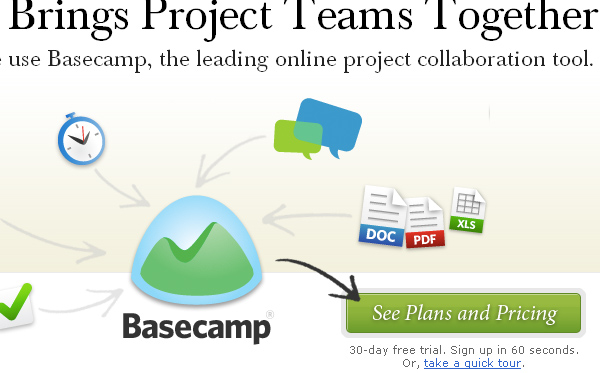 Basecamp Keeps Your Projects Together.