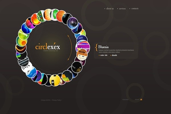 Creative Web Design template