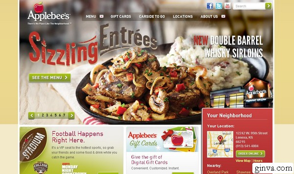restaurant website design 4 > 30+ Restaurant Website Design That Will Make You Hungry