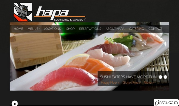 restaurant website design 3 > 30+ Restaurant Website Design That Will Make You Hungry